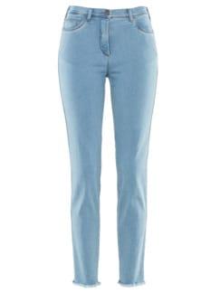 7/8-Supersoft-Jeans Hellblau Detail 3