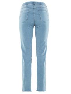 7/8-Supersoft-Jeans Hellblau Detail 4