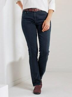Macht-mich-schlank-Jeans Dunkelblau Detail 1