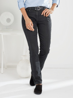 Macht-mich-schlank-Jeans Anthrazit Detail 1