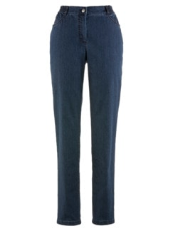 Coolmax-Jeans Komfortbund Dunkelblau Detail 3