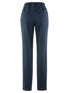 Coolmax-Jeans Komfortbund Dunkelblau Detail 4
