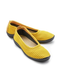 Hallux-Soft-Slipper Gelb Detail 1