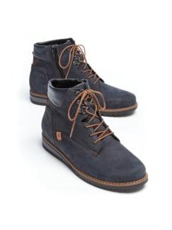 Waldläufer-Luftpolster-Winter-Boots Jeansblau Detail 1