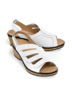 Hallux-Sandalette Passt immer Weiß Detail 1