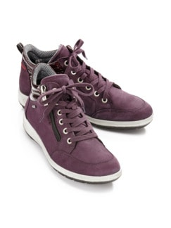 GORE-TEX-Sneaker Bordeaux Detail 1