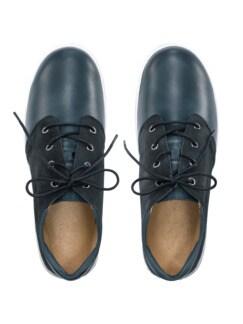 Hallux-Sneaker Happy Feet Marine Detail 3