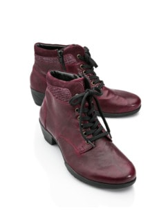 Hallux-Thermo-Stiefelette Bordeaux Detail 1