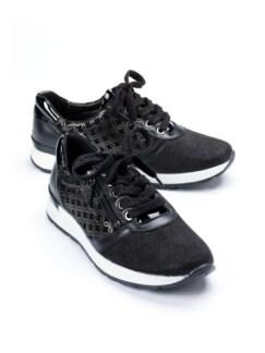 Hallux-Sneaker Trendy low Schwarz Detail 1