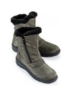 Aquastop-Boots Thermo Khaki Detail 1