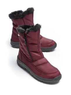 Aquastop-Boots Thermo Bordeaux Detail 1