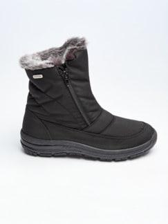 Aquastop-Boots Thermo Schwarz/Grau Detail 2