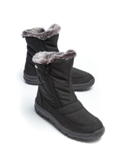 Aquastop-Boots Thermo Schwarz/Grau Detail 1