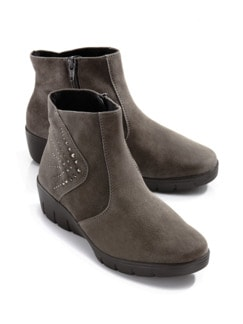 Soft-Stiefelette Select Taupe Detail 1