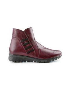 Ultrasoft-Bequem-Boots Rot Detail 2