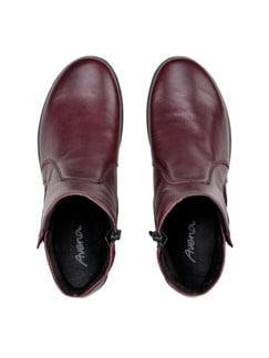 Ultrasoft-Bequem-Boots Rot Detail 3