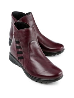 Ultrasoft-Bequem-Boots Rot Detail 1