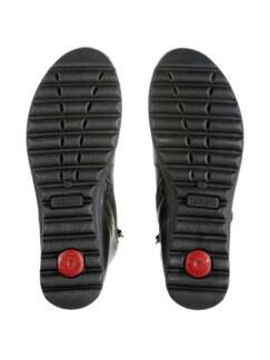 Ultrasoft-Bequem-Boots Schwarz Detail 4