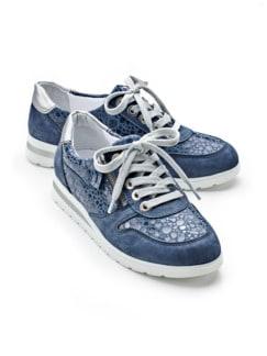 Reißverschluss-Sneaker Softness