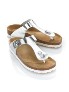 Zehensteg-Sandale Soft-Feeling