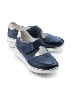 Bequem-Klett-Sneaker Wohlfühlweite Jeans Detail 1