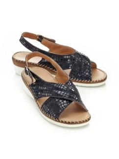 Supersoft-Sandalette Fußschmeichler