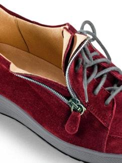 Ganter-Prophylaxe-Sneaker Rubinrot Detail 3