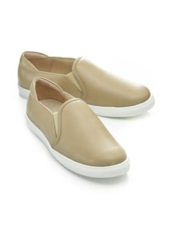 Hallux-Slip-On Sporty Taupe Detail 1
