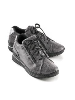 Reißverschluss-Schuh Wohlfühlweite Anthrazit Detail 1