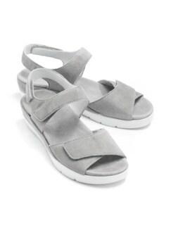 Hallux-Sandale Wolke 7 Grau Detail 1
