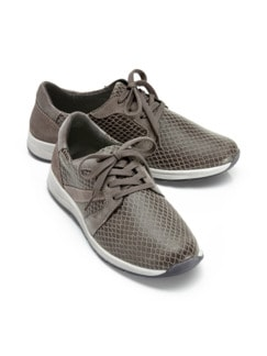 Hallux-Sneaker 180 Grad Taupe Detail 1