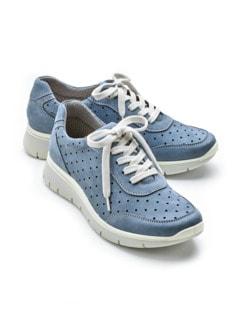 Wohlfühl-Klima-Sneaker Jeansblau Detail 1
