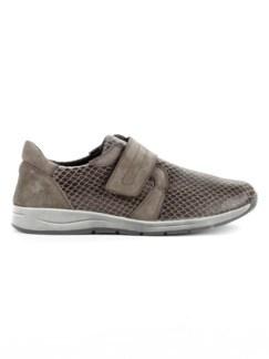 Hallux-Klett-Sneaker 180 Grad Taupe Detail 2