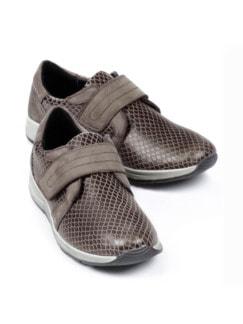 Hallux-Klett-Sneaker 180 Grad Taupe Detail 1