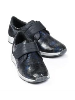 Hallux-Klett-Sneaker 180 Grad Blau/Schwarz Detail 1