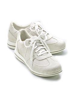 Green Comfort-Sneaker Federleicht Grau Detail 1