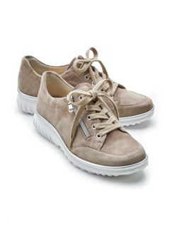 Supersoft-Sneaker Extraweit Beige Detail 1