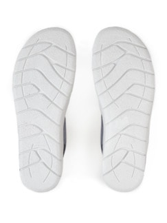 Luftpolster-Sandale Weitenkomfort Hellblau Detail 4
