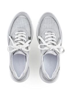 Bequem-Sneaker Safe-Grip Grau Detail 3