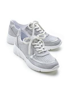 Bequem-Sneaker Safe-Grip Grau Detail 1