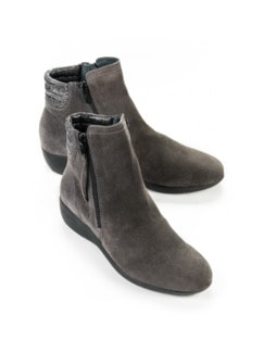 Hallux-Stiefelette Soft & Easy Taupe Detail 1