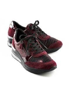 Hallux-Sneaker Hüftschwung Bordeaux Detail 1