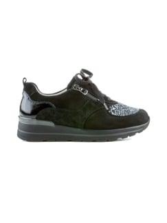 Hallux-Sneaker Weitenkomfort Schwarz Detail 2