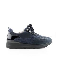 Hallux-Sneaker Weitenkomfort Marine Detail 2