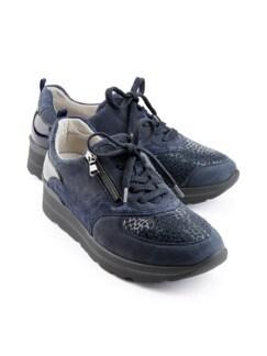 Hallux-Sneaker Weitenkomfort Marine Detail 1