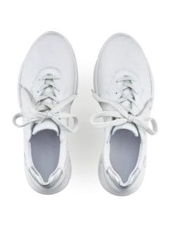 Hallux-Sneaker Supersoft Weiß Detail 3