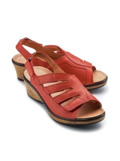 Hallux-Sandalette Passt immer Rot Detail 1