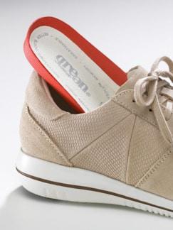 Green Comfort-Sneaker Federleicht Beige Detail 3
