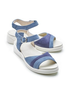 Hallux-Sandale Supersoft Blau Detail 1