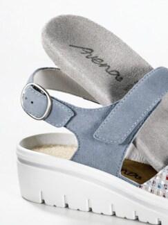 Hallux-Sandale de Luxe Hellblau Detail 4